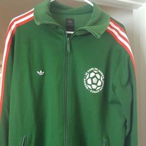 Adidas Mexico70 Soccer National Team Jacket